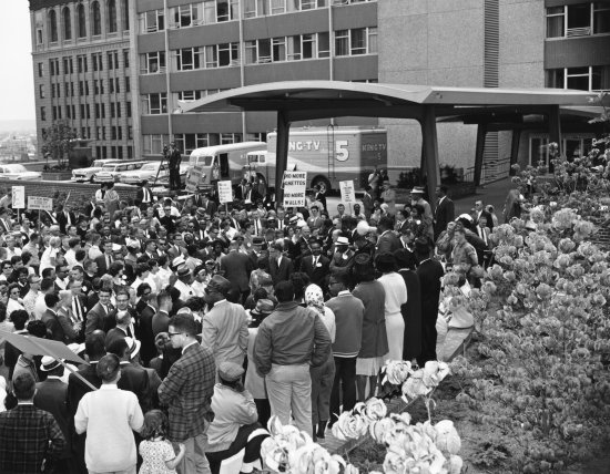 Seattle City Hall Protest Housing Discrimination 1963