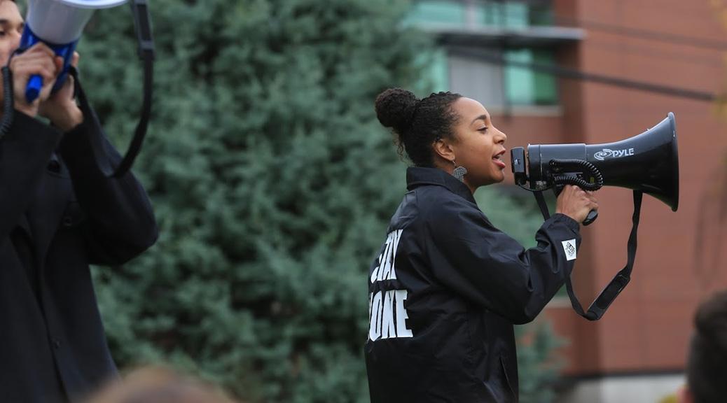 Olivia Smith (Photo by Chris Joseph Kalinko, Seattle University) - Revolutionary Women