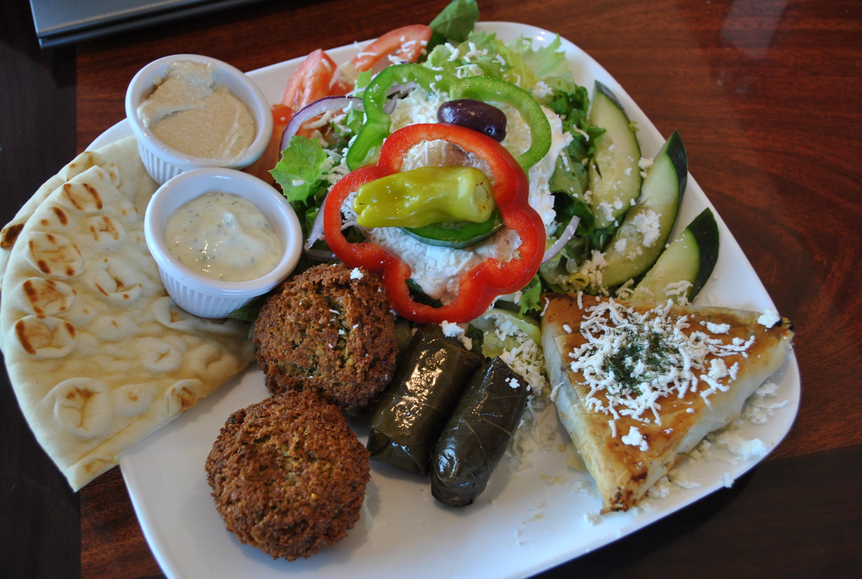 Mawadda Cafe Veggie Platter