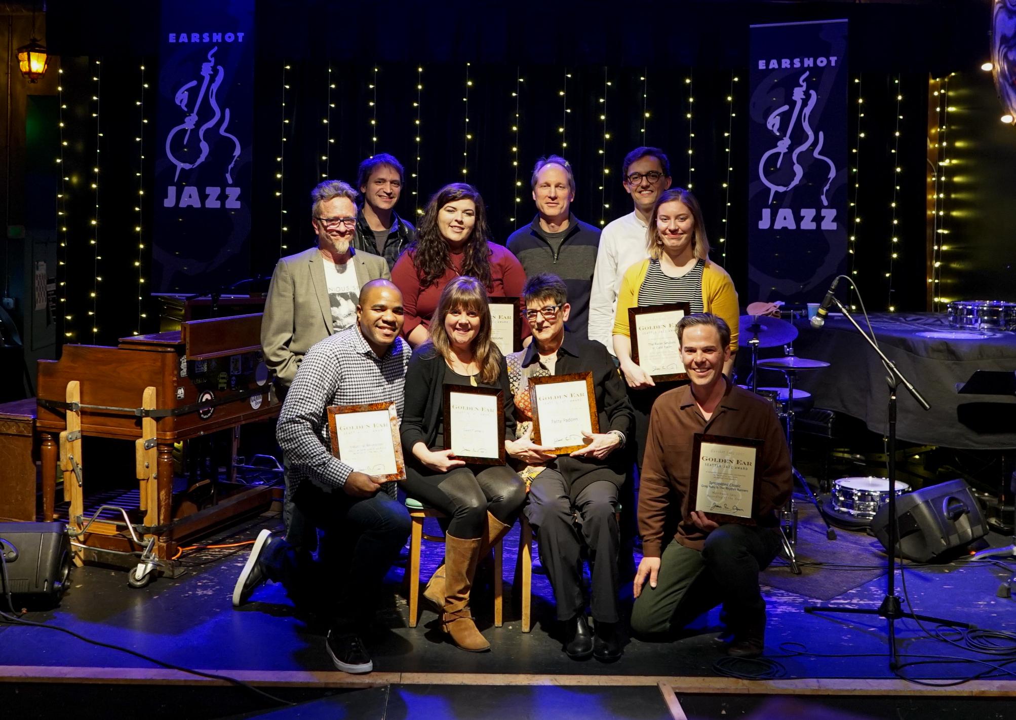 Seattle Jazz Award 12a-1