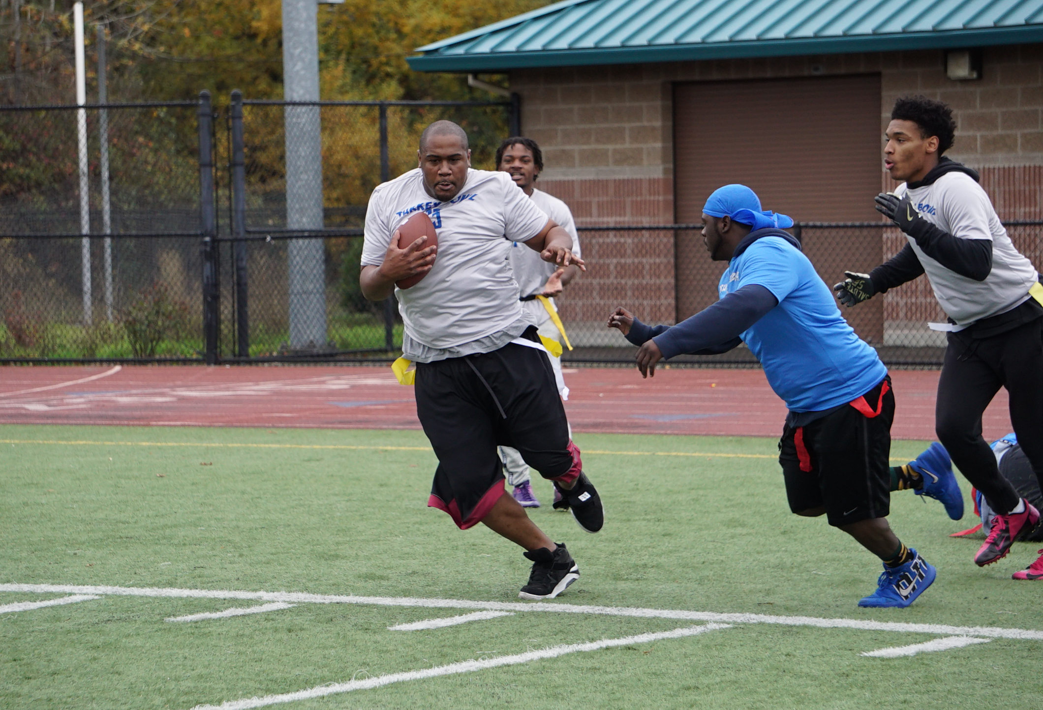 Turkey Bowl football 8-1-2