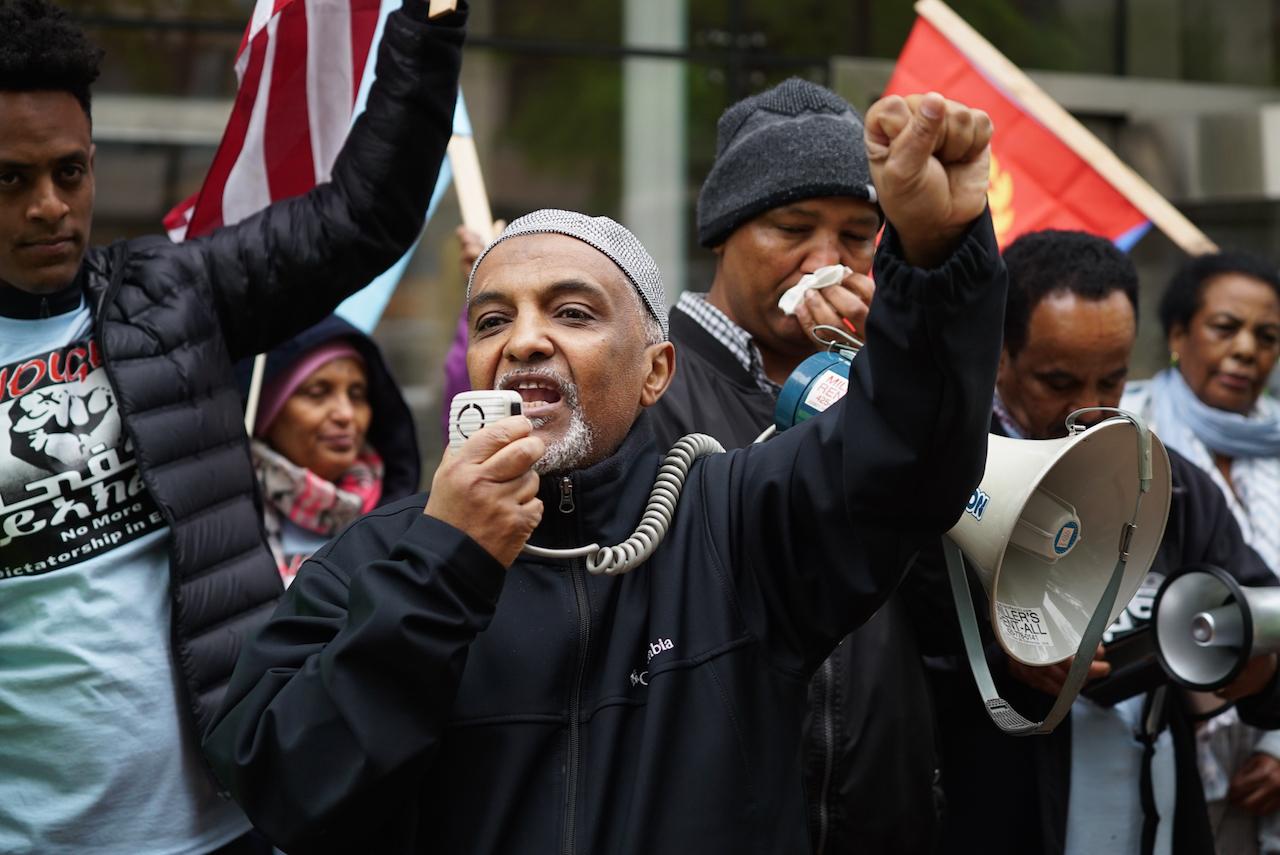_Democracy for Eritrea Rally Mensur Yassir-1