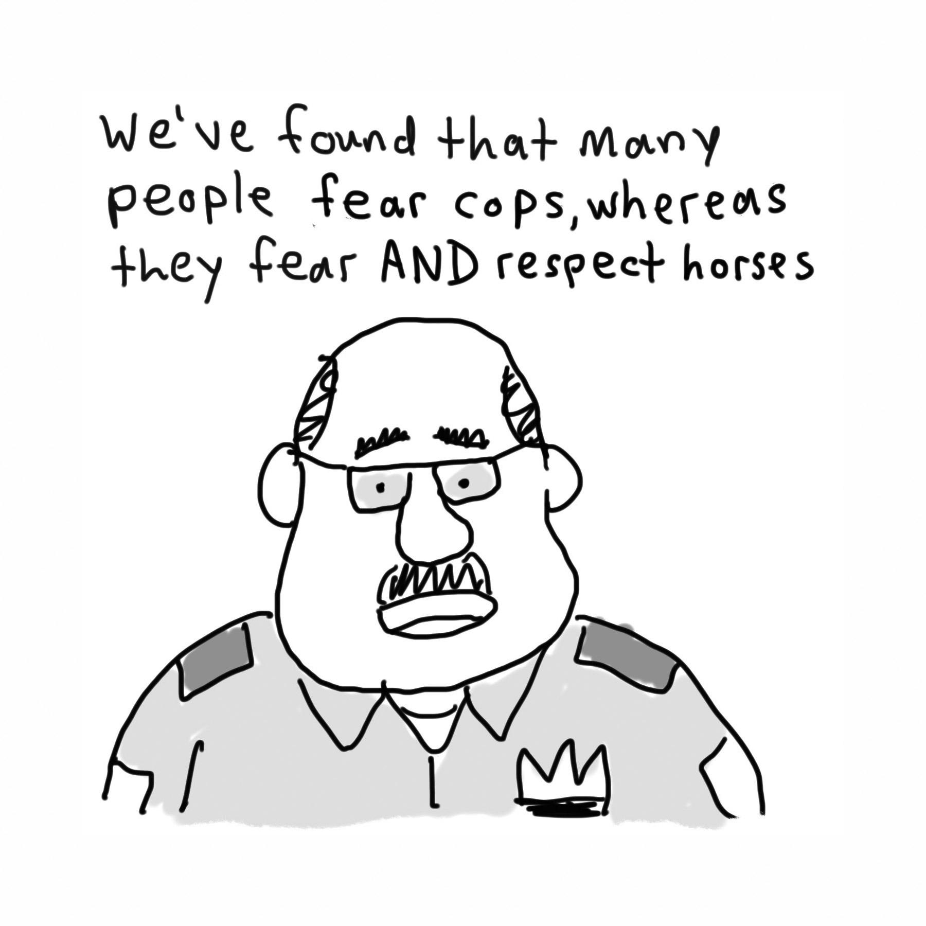 6horse cop